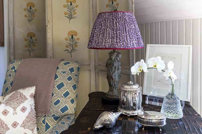 Charlotte Barnes bedroom detail