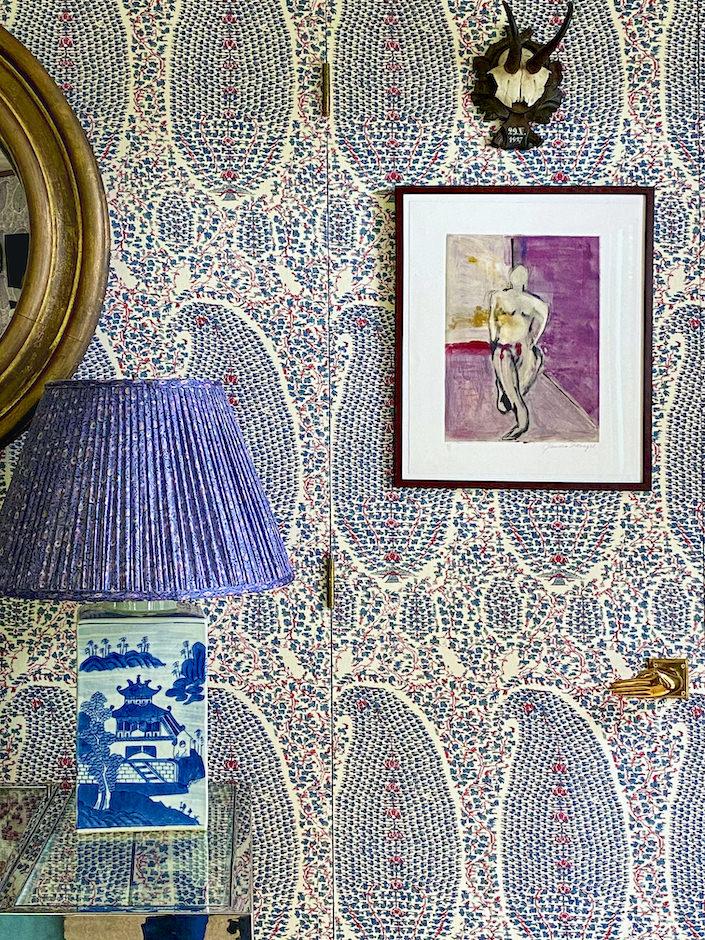 Charlotte Barnes family room detail