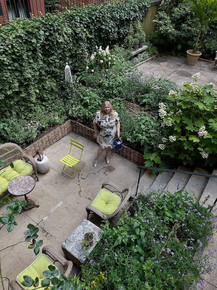 Emily Eerdmans nyc garden via Quintessence