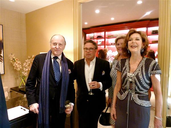 Mario Buatta and Scalamandre's Steven Stolman
