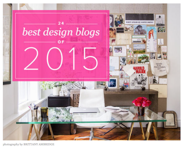 24 best design blogs by Domino magazine