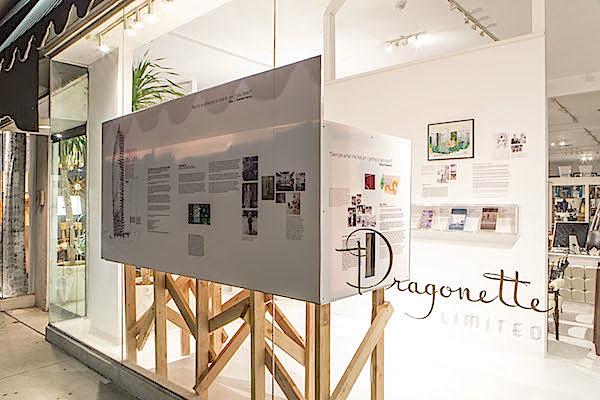 Doug Meyer Legends window at Dragonette