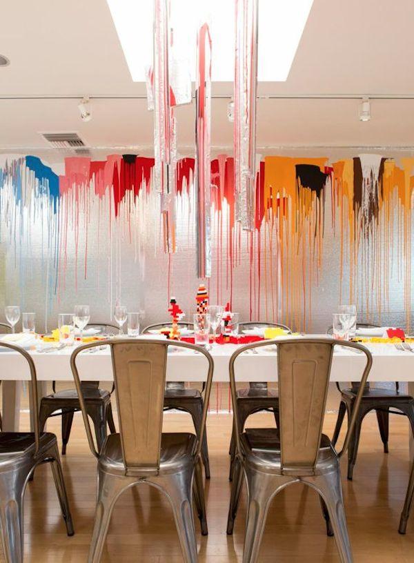 Doug Meyer designed dining room at Palos Verdes Art Center