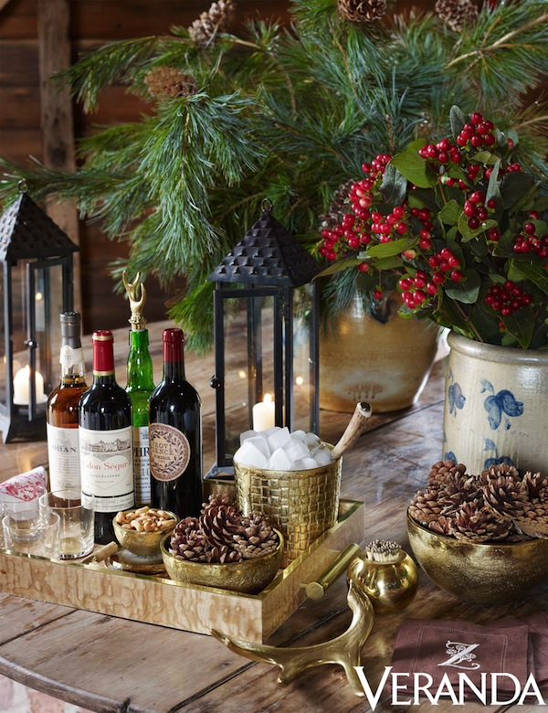 Rustic Chic New Year S Lunch With Aerin Lauder Quintessence