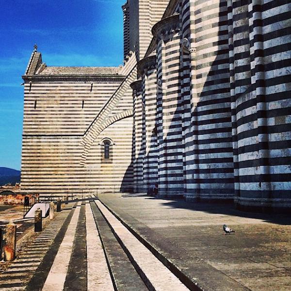 Alessandra Branca Instagram of Orvieto