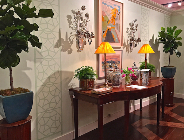 Allison Caccoma Gallery at Sotheby's 2015 Showhouse