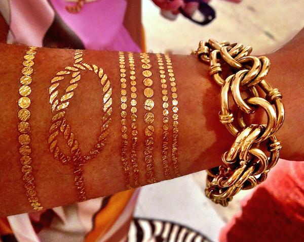 Lulu DK temporary jewelry tatoos
