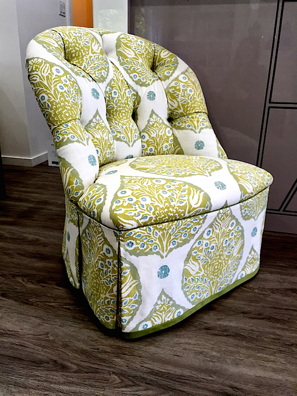 Anthony Lawrence Home boudoir chair