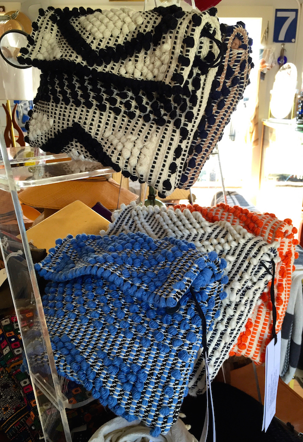 Antonello bags at SPACE on Nantucket