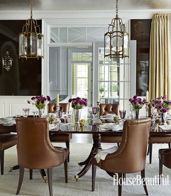 Beautiful Dining: Ashley Whittaker Does Pretty Perfectly In House Beautiful
