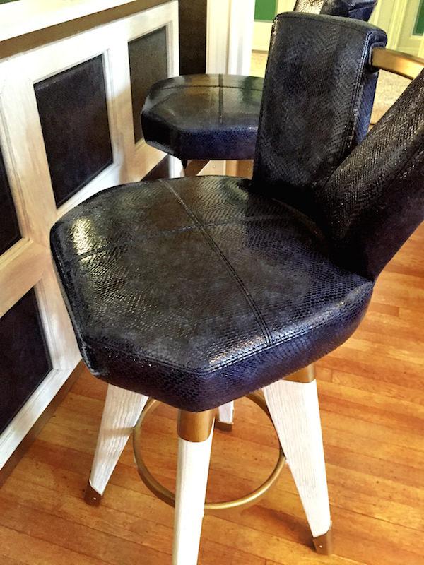 Bausman & Company stool designed by Patrick Dragonette