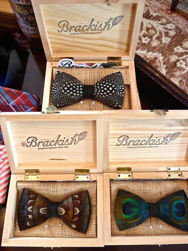Brackish bow ties from Taigan Marketplace