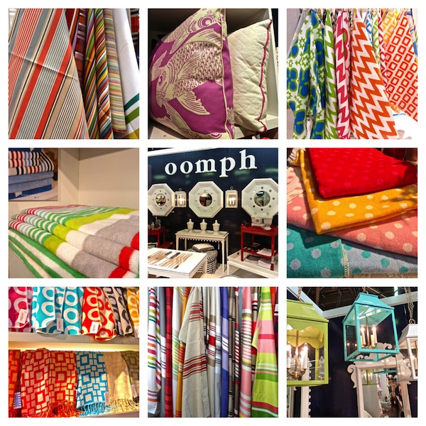 Bright and bold color at the New York Gift Fair