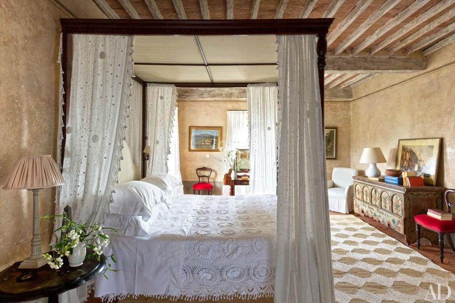 Camilla Guiness interiors, photo Oberto Gili for AD
