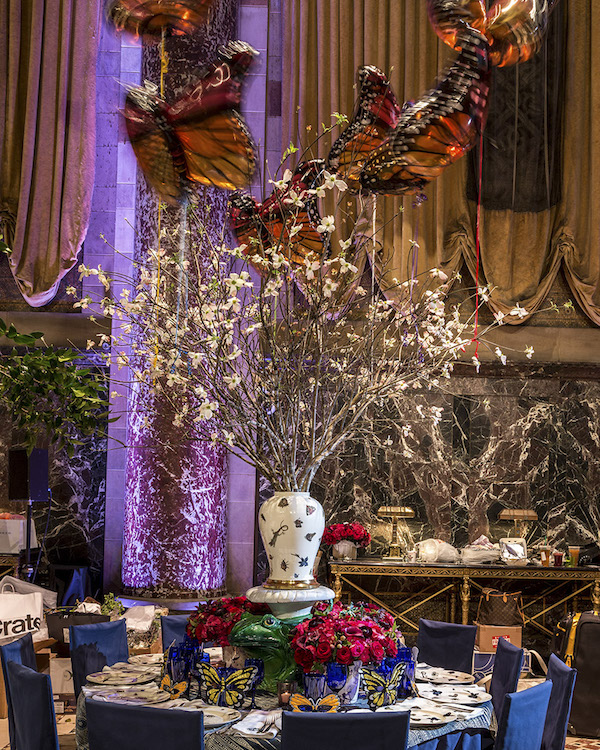 tabletop inspiration by Christopher Spitzmiller at Lenox Hill Gala