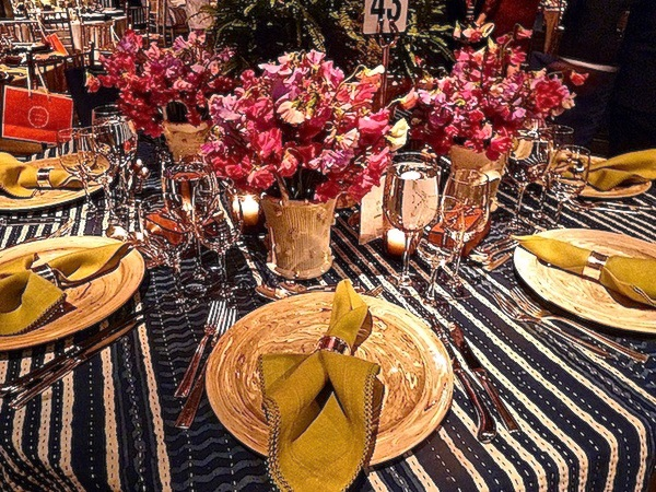 Christopher Spitzmiller table at the Lenox Hill Neighborhood House 2013 spring gala