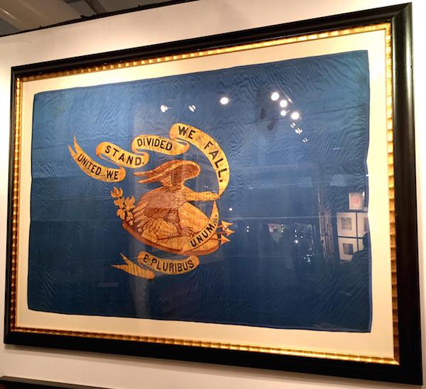 Civil War regimental flag from Jeffrey Bridgman