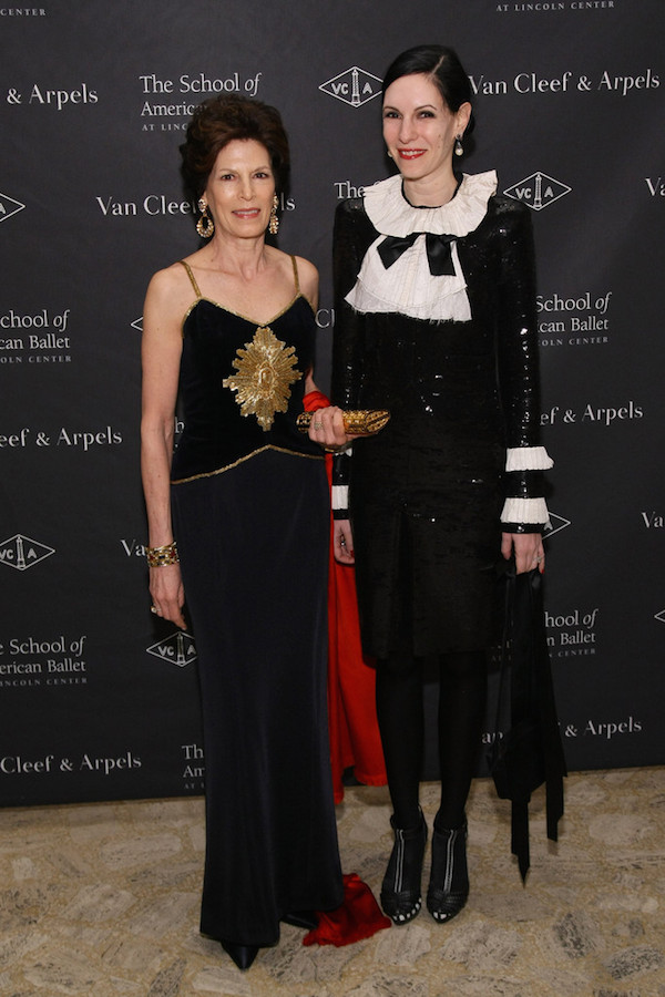 Coco Kopelman and Jill Kargman at School of American Ballet