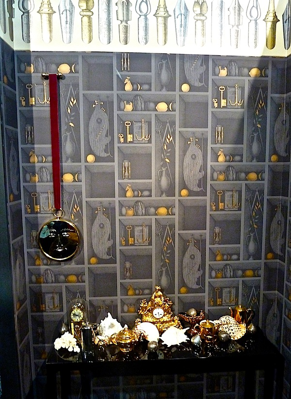 cole and son fornasetti ii at maison et objet quintessence. Black Bedroom Furniture Sets. Home Design Ideas