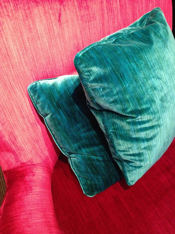 DEDAR Romeo & Giulietta chine silk velvet