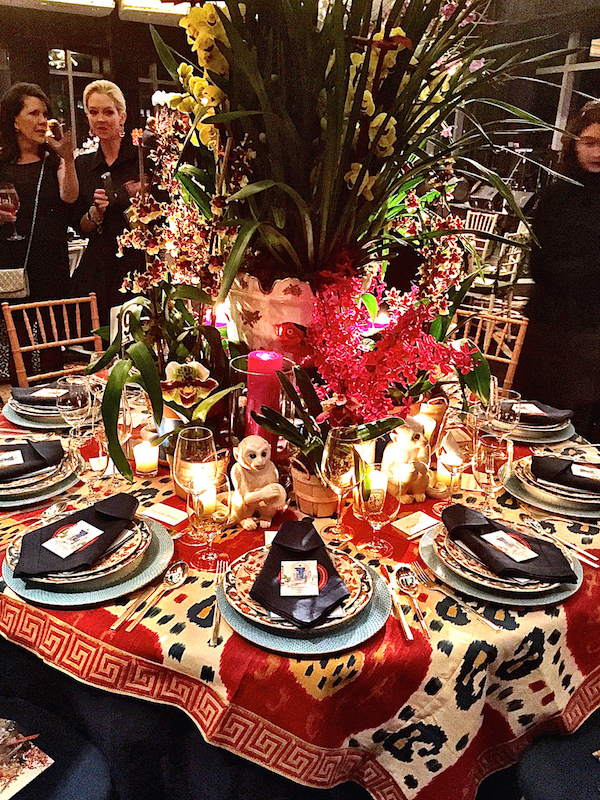 Stylish Entertaining at the NYBG Orchid Dinner