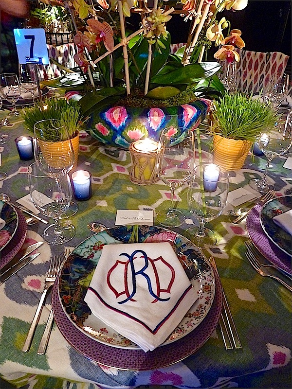 NY Botanical Garden Orchid Dinner Continued - Quintessence