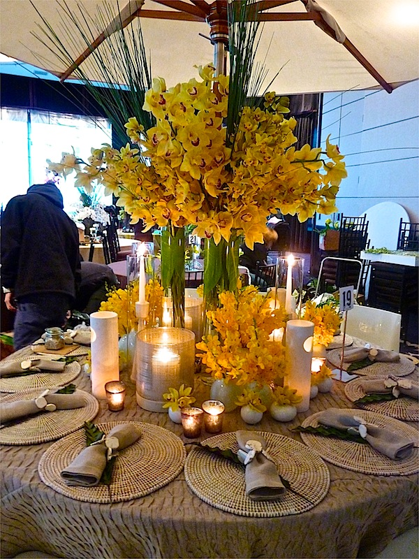 David Scott NYBG Orchid Dinner