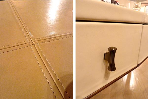 Ivory Drexel Heritage Salutation Desk details