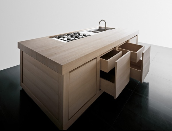 Effeti bespoke wood kitchen at the Architectural Digest Home Show