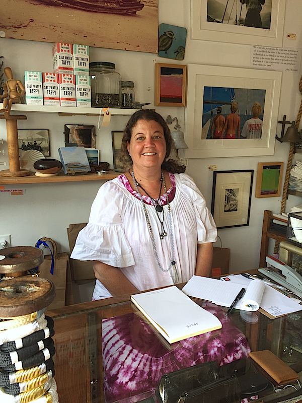Elise Gura of SPACE Nantucket