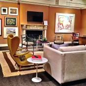 Eric Cohler family room at Sotheby's 2015 Showhouse