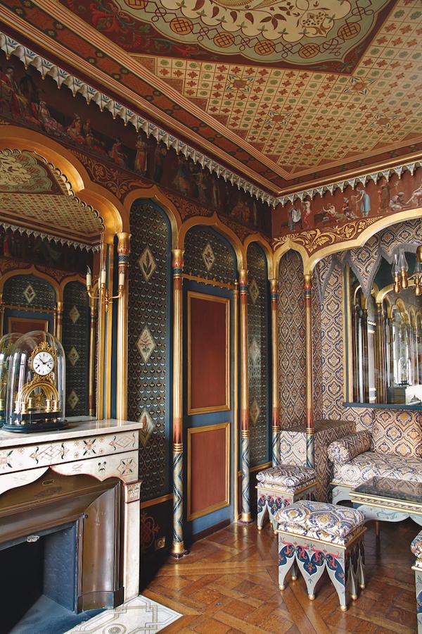 Cabinet turc of Eugéne de Beauharnais, hotel de Beauharnais, Pais, c. 1803-10 Image credit: Paris: Hôtel de Beauharnais, photo Marc Walter