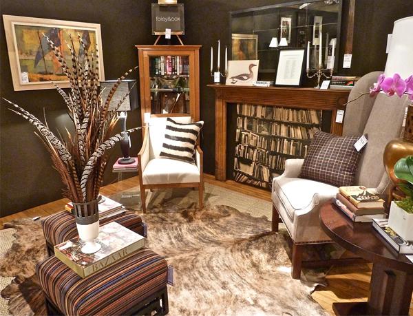 Design On A Dime Vintage Eclectic Living Room