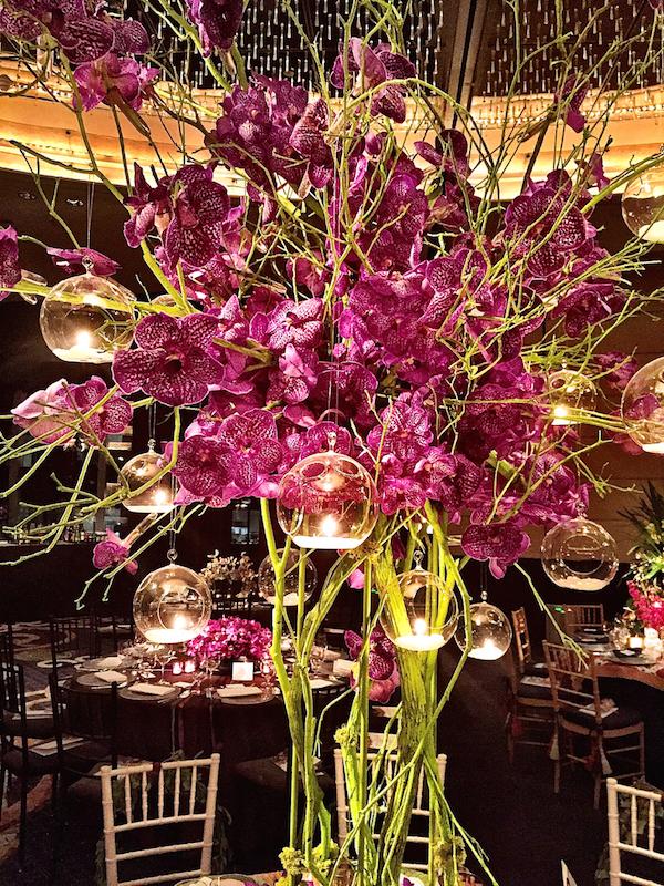 Frank De Biasi Orchid Dinner 2015 flower details