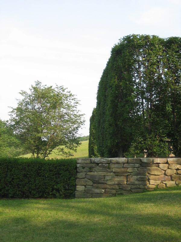 Gil Schafer Middlefield garden