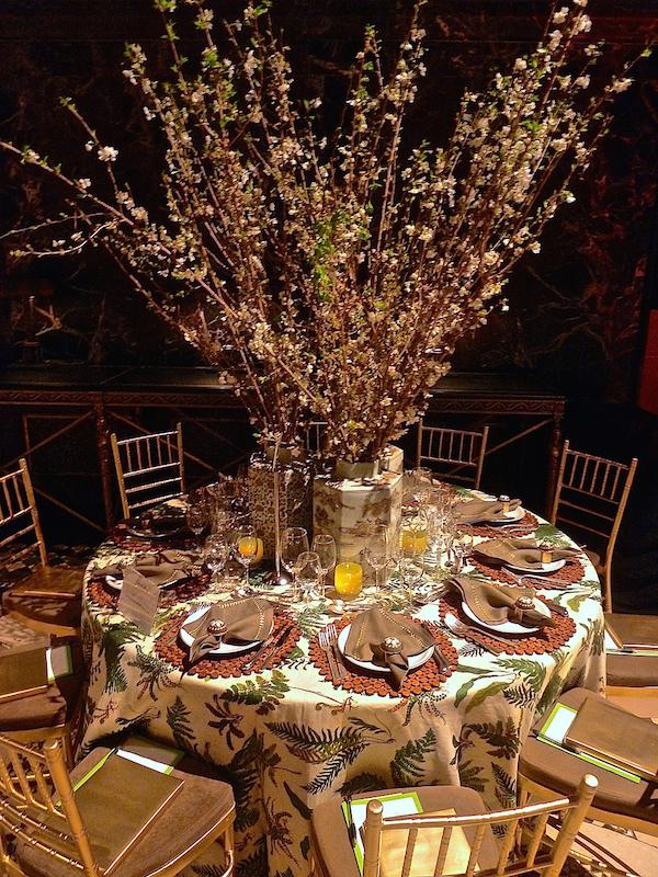 Good Bones Great Pieces Lenox Hill gala table