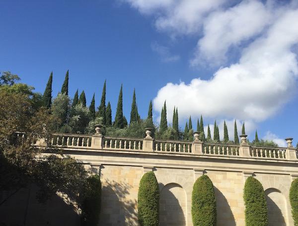 Greystone Mansion view