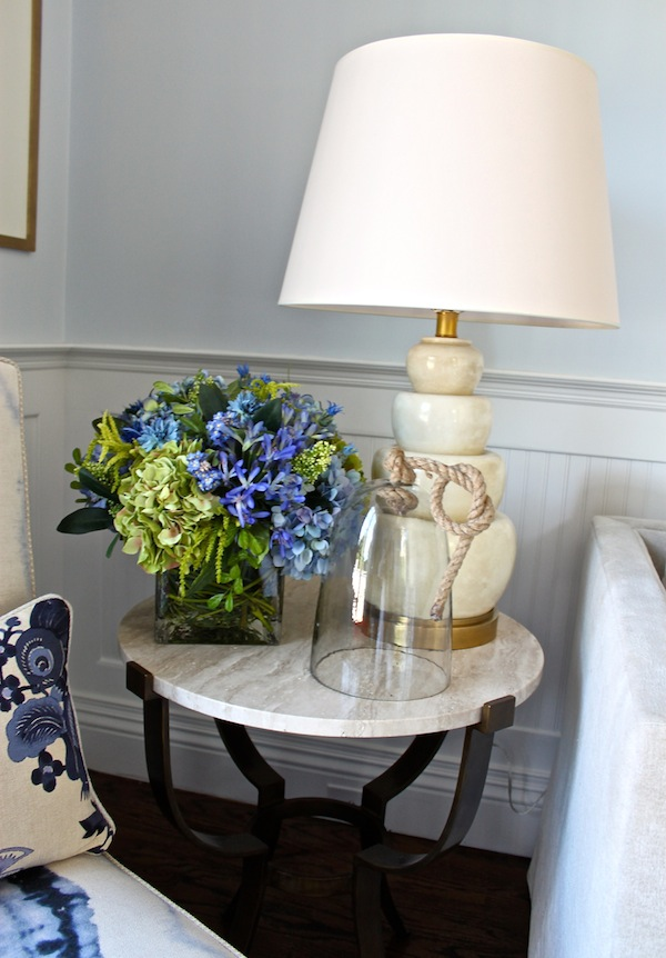 Jennifer McConnell of Pearson guest suite at Hampton Designer Showhouse