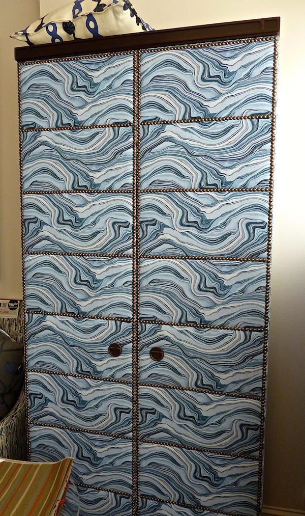 Blue is a popular color at High Point market fall 2012