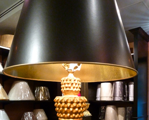 Tole lampshades