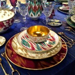& The Chic Table | Hermès Voyage en Ikat - Quintessence
