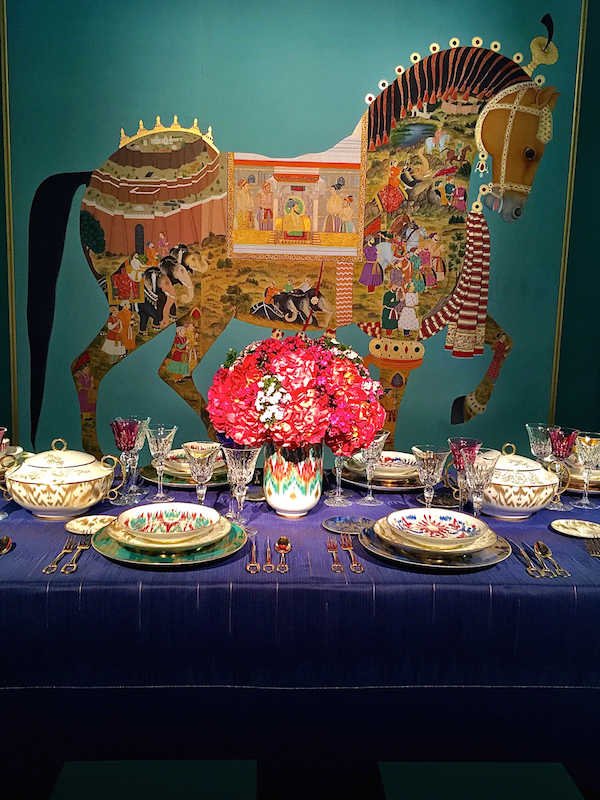 Hermes table at DIFFA Dining by Design