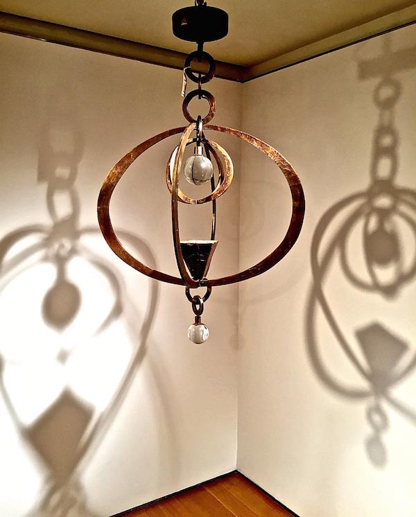 Herve van der Straeten Astrolab chandelier
