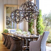Hillary Thomas Napa Valley dining room, photo by John Merkl for Traditional Home