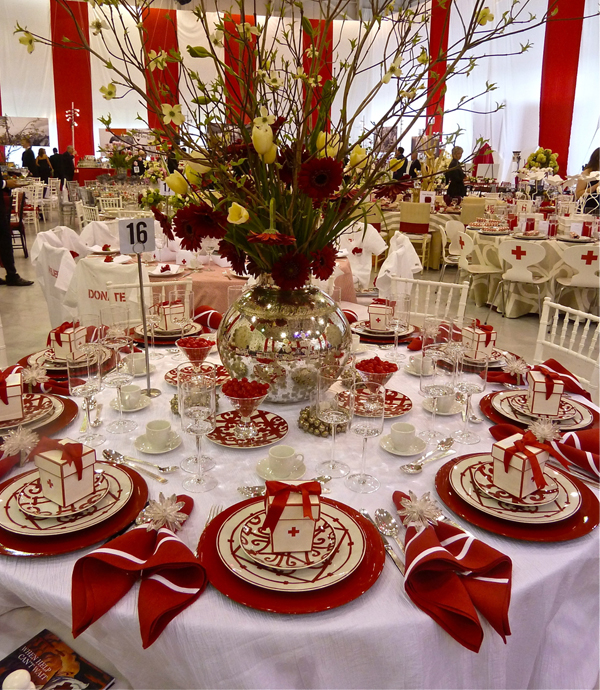Help Is Here: The Greenwich Red Cross Red & White Ball