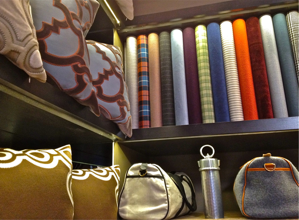 Holland & Sherry Bespoke store, Elizabeth Street, NYC