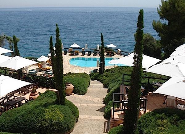 Hotel Il Pellicano view