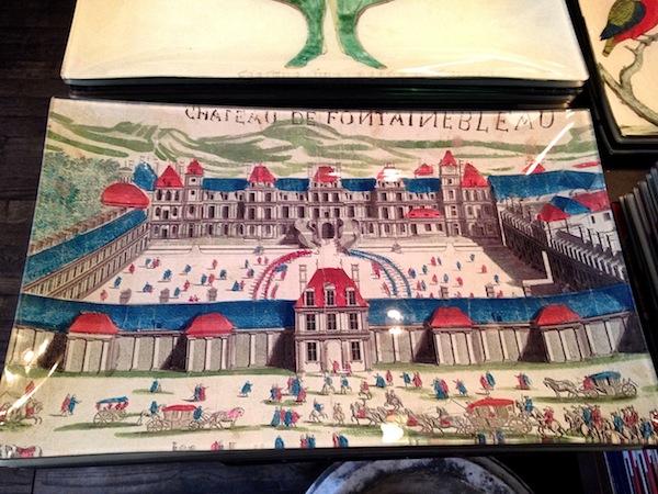 Fontainbleau platter