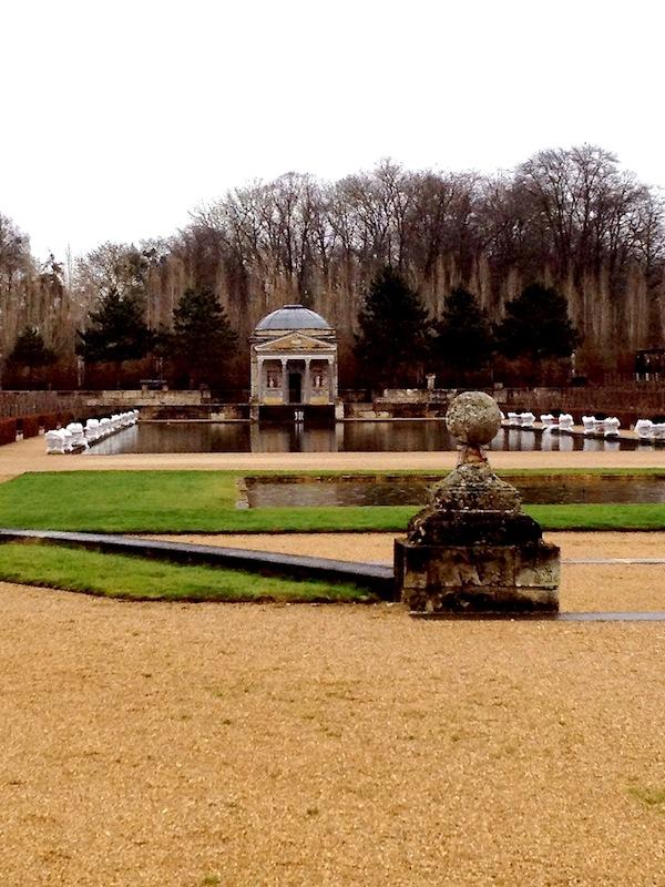 garden at champ de bataille