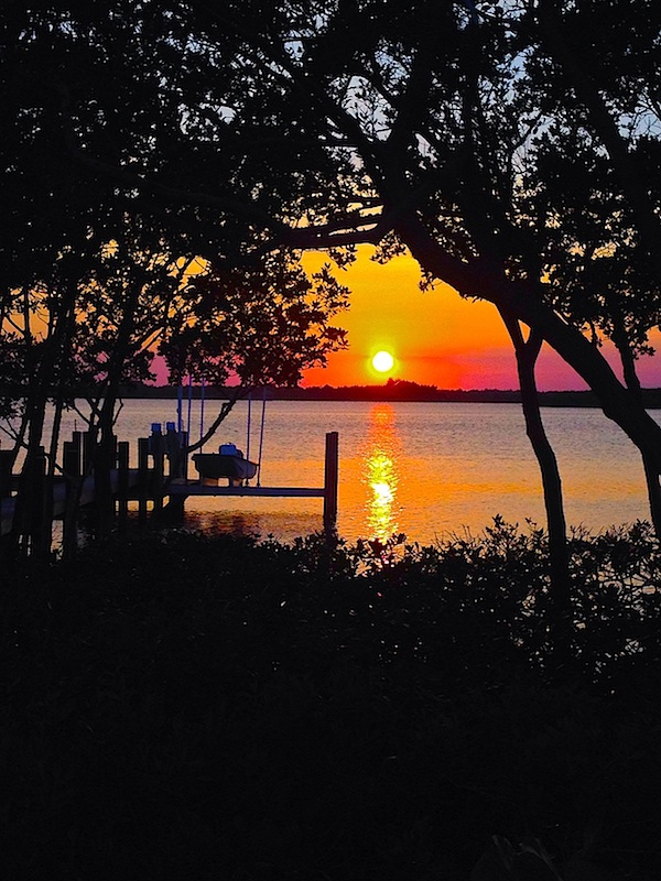 Florida sunset during spring break